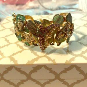 Kirks Folly Gold tone St. Patrick's Day Bracelet